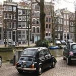 Auto naar sloop Amsterdam